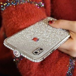 Accessories - Bling Rhinestone iPhone Xmax Case New